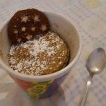 Torta in tazza al microonde | Dolce veloce