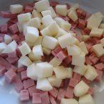 Patate con prosciutto e cipolla   Microonde