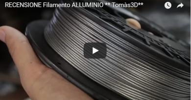 Filamento Alluminio della Tomàs3D | Stampa 3D